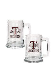 Texas A & M® 2-pc. Glass Tankard Set