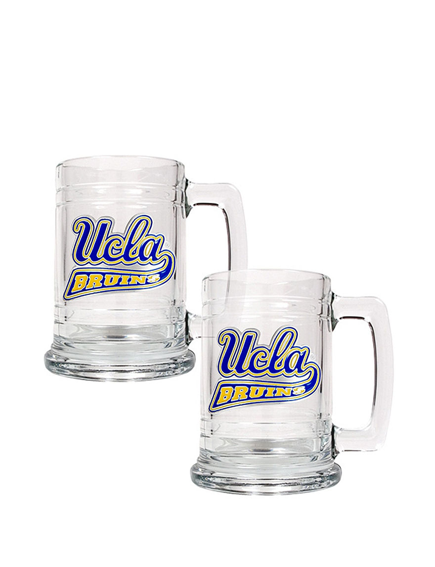NCAA Clear Beer Glasses Drinkware Sets Drinkware NCAA