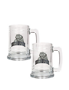 NCAA Clear Beer Glasses