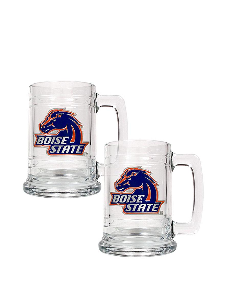 NCAA Clear Beer Glasses Drinkware Sets Drinkware