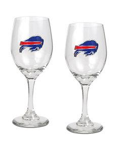 NFL Clear Drinkware Sets Wine Glasses Drinkware
