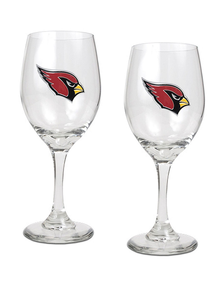 NFL Clear Drinkware Sets Wine Glasses Drinkware Gourmet Food & Beverages NFL