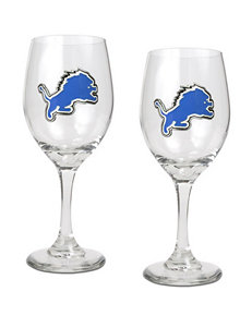 NFL Clear Wine Glasses