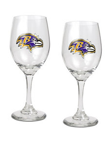 NFL Clear Wine Glasses NFL