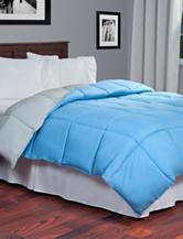 Lavish Home Reversible Blue & Grey Down Alternative Comforter