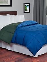 Lavish Home Reversible Navy & Green Down Alternative Comforter