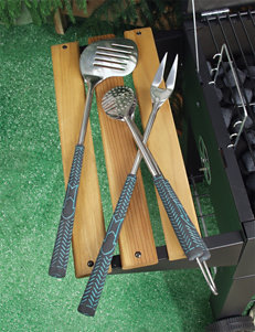 Charcoal Companion 3-pc. Golf Club BBQ Tool Set