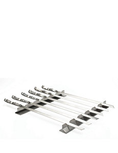 Steven Raichlen 7-pc. Kabob Rack & Skewer Set