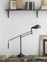 Zuo Pure Black Skip Table Lamp