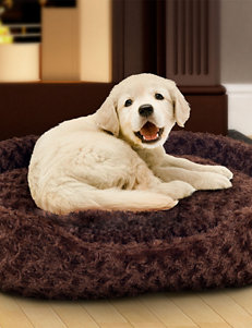 PAW Extra Large Cuddle Round Plush Pet Bed