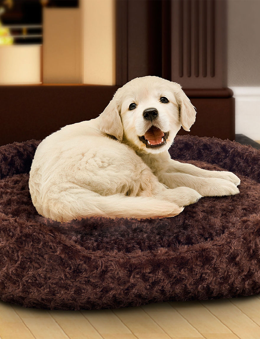 Paw Brown Pet Beds & Houses