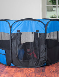 Paw Blue / Black Pet Beds & Houses