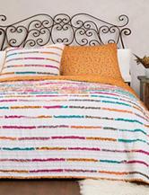 Lush Décor Umbria Tangerine Quilt Set