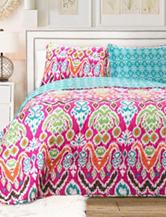Lush Décor 3-pc. Jaipur Ikat Collection Quilt Set