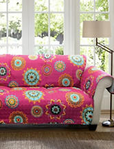 Lush Décor Adrianne Collection Fuchsia Furniture Protectors