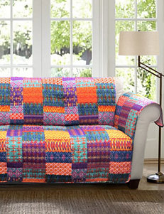 Lush Décor Misha Collection Patchwork Furniture Protectors