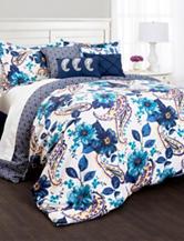 Lush Décor 7-pc. Floral Paisley Collection Comforter Set