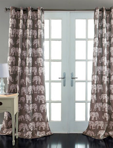 Ever Dark Grey Curtains & Drapes