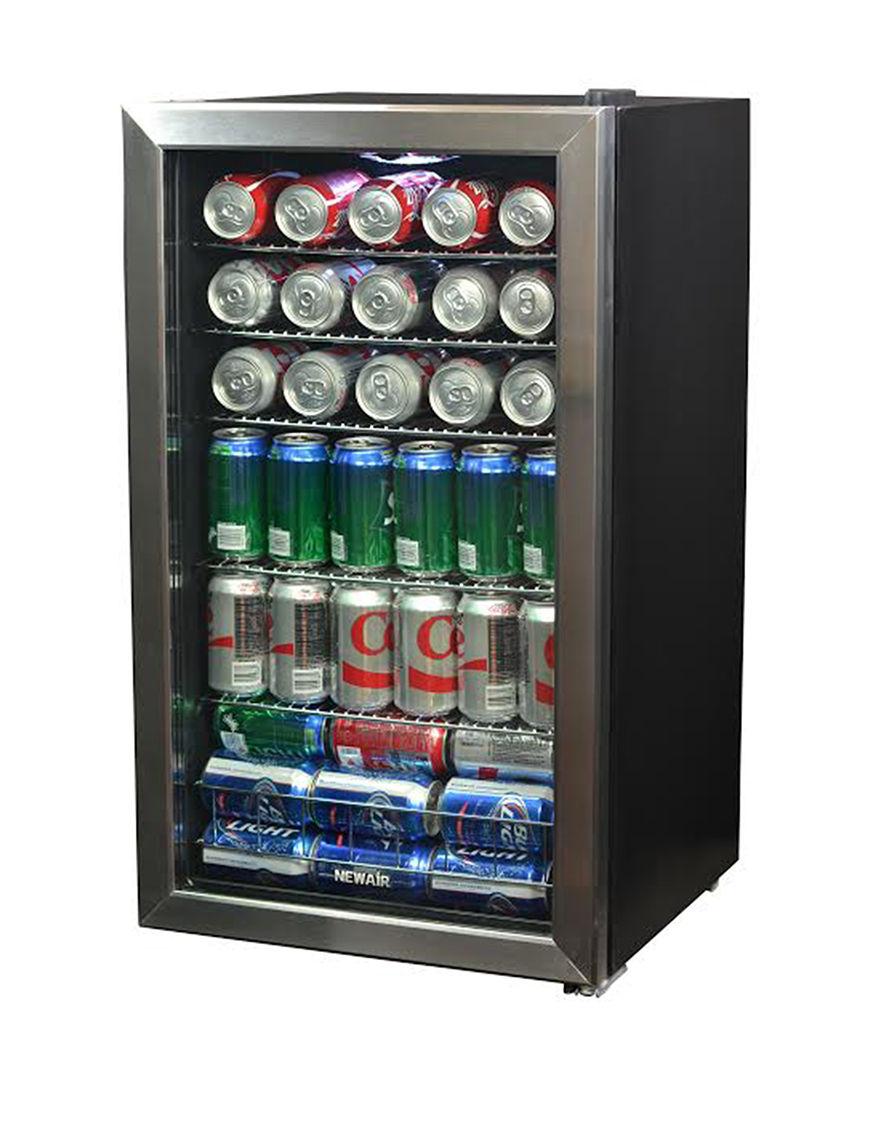 New Air Silver / Black Refrigerators Kitchen Appliances