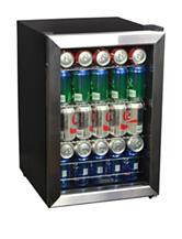 New Air 84-Can Stainless Steel Beverage Cooler