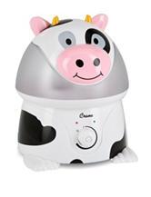 Crane Adorable Cow Ultrasonic Cool Mist Humidifier