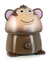 Crane Adorable Monkey Ultrasonic Cool Mist Humidifier