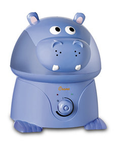 Crane Adorable Hippo Ultrasonic Cool Mist Humidifier