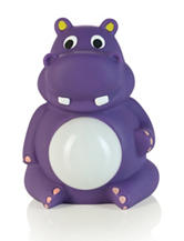 Crane Adorable Belly Glo Hippo Night Light