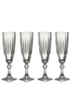 Stylesetter Reflections 4-pc. Champagne Glass Set