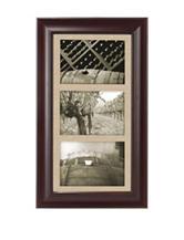 Malden 5 x 7 Barnside Walnut Collage Frame