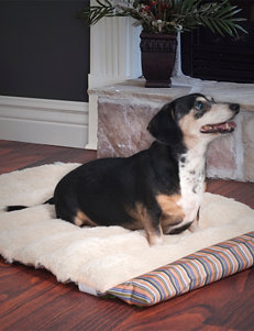 PAW Striped Roll Up Travel Portable Dog Bed