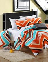 Chic Home Design 7-pc. Ziggy Zag Comforter Set