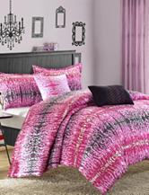 Chic Home Design 4-pc. Pink Reversible Comforter Set