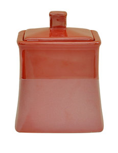 Jessica Simpson Kensley Coral Color Block Jar