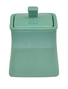 Jessica Simpson Aqua Trays & Jars Bath Accessories
