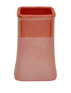 Jessica Simpson Kensley Coral Color Block Tumbler