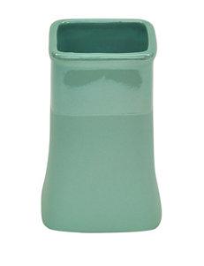 Jessica Simpson Aqua Tumblers Bath Accessories