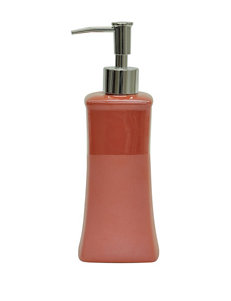 Jessica Simpson Kensley Coral Color Block Lotion Dispenser
