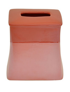 Jessica Simpson Kensley Coral Color Block Tissue Cube
