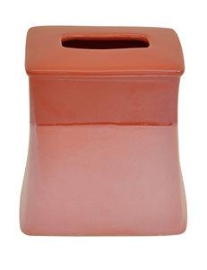 Jessica Simpson Coral Tissue Box Covers Bath Accessories