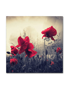 Red For Love Canvas Art