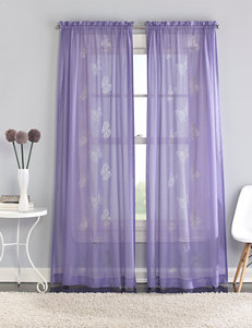 CHF & You Purple Curtains & Drapes Window Treatments