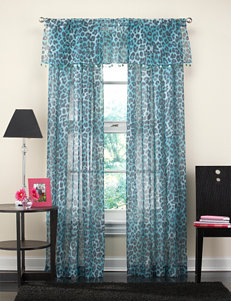CHF & You Turquoise Curtains & Drapes