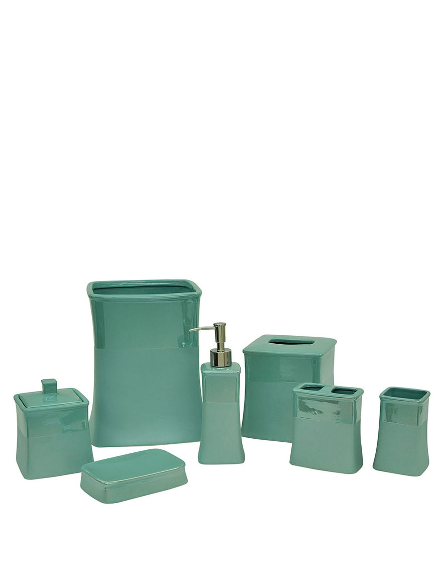 Jessica simpson aqua kensley bath accessories collection for Aqua bath accessories