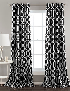 Ever Dark Black Curtains & Drapes Window Treatments