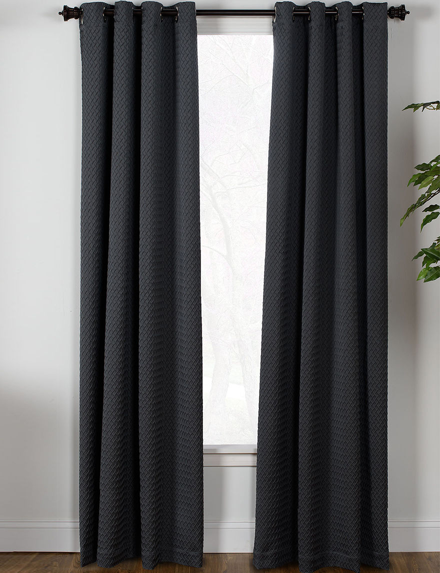 Westgate Graphite Curtains & Drapes Window Treatments