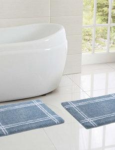 Victoria Classics Blue Bath Rugs & Mats