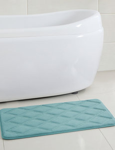 Victoria Classics Diamond Small Embossed Bath Rug