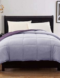 Caribbean Joe Down Alternative Reversible Purple  Twin Comforter
