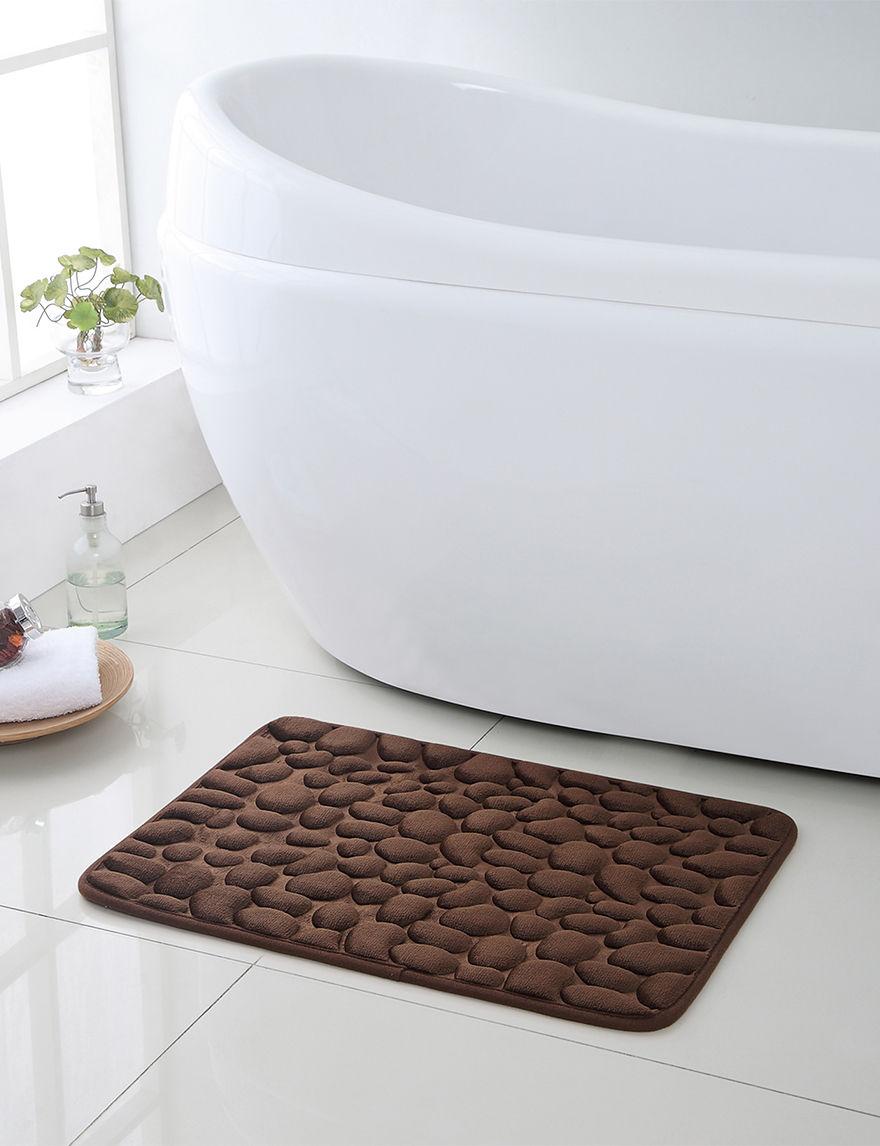 Victoria Classics Brown Bath Rugs & Mats